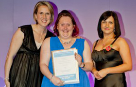 Hazel Johnson - Disabled Sports Achiever of the Year - Greater Manchester Sports Awards 2010