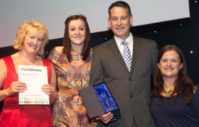 Bolton Sports Awards 2010 - Club of the Year - Forrest Badminton Club