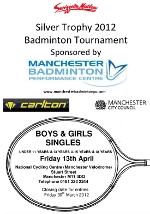 Swizzels Matlow Silver Junior Badminton Tournament 2012